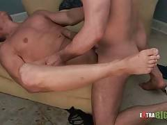 Toned Blond Dude Loves To Get Poked 1