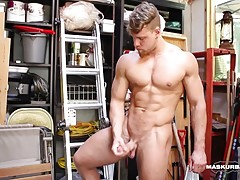 My friend Brad helped me clean up my shed. He found a masturbating toy, so tiny, that he was certain that his dick wouldn`t fit in it. I bet $100 that it would...
