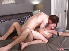 Romeo`s Bareback Cock Inside John