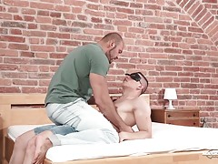 Ever since Peter made his debut on Maskurbate, everybody wants him. Thomas does too but knows he has to come up with a good plan. He found the HypnoMask at a friend`s apartment and after trying it himself, he decides to use it on Peter. Poor Peter is in f