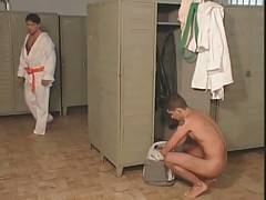 Guys Get Horny In Locker Room 1