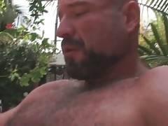Big Bear Has Fun With Hot Blond Guy 1