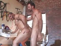 Hairy Daddy Attacks Horny Muscled Bull 3